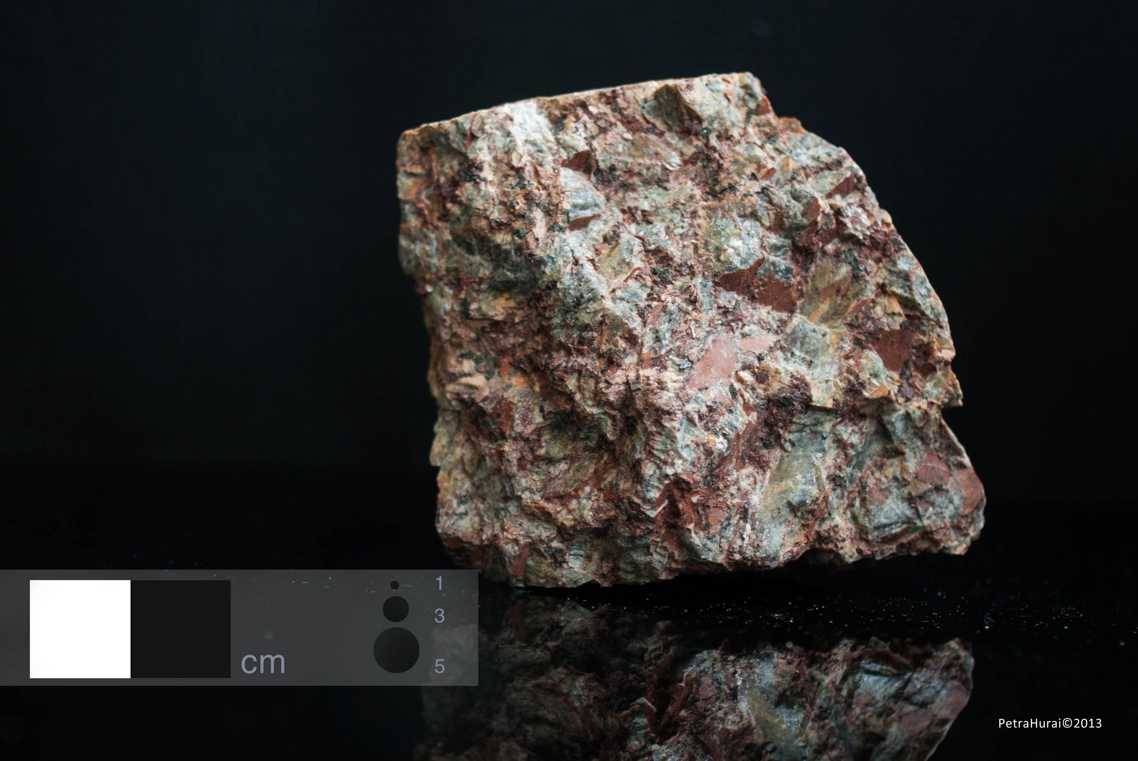 Larvikite - Macro